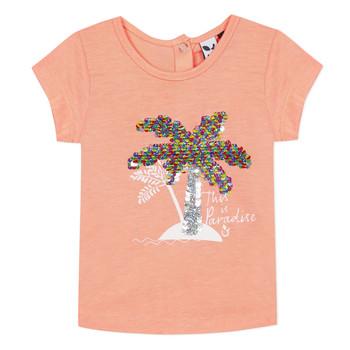 textil Flickor T-shirts 3 Pommes EMMA Orange