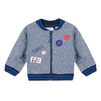 textil Pojkar Sweatshirts 3 Pommes VALENTIN Blå