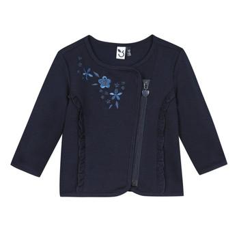 textil Flickor Koftor / Cardigans / Västar 3 Pommes TEVAI Blå