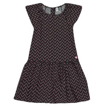 textil Flickor Korta klänningar 3 Pommes JULIE Svart