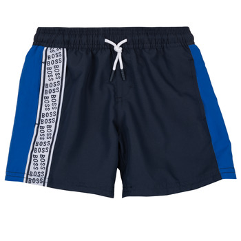 textil Pojkar Shorts / Bermudas BOSS MOZEL Blå