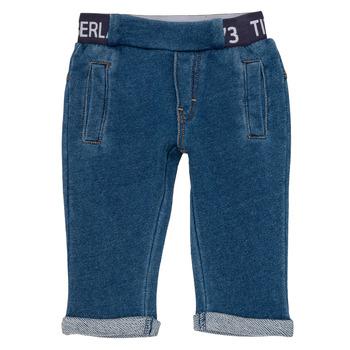 textil Pojkar 5-ficksbyxor Timberland VALENTIN Blå