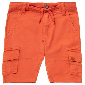 textil Pojkar Shorts / Bermudas Timberland TIMEO Röd