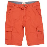 textil Pojkar Shorts / Bermudas Timberland STANISLAS Röd