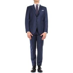 textil Herr Kostymer Kiton 0302S15/25 Blue