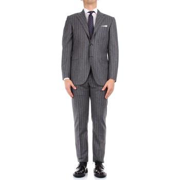 textil Herr Kostymer Kiton 0252S08/2 Grey