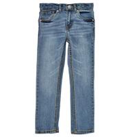 textil Pojkar Skinny Jeans Levi's 511 SKINNY FIT Blå