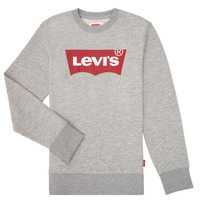 textil Pojkar Sweatshirts Levi's BATWING CREWNECK Grå