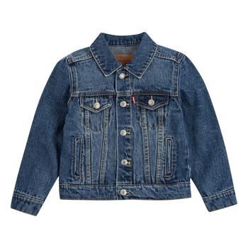 textil Pojkar Jeansjackor Levi's TRUCKER JACKET Bristol