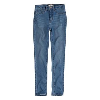 textil Flickor Skinny Jeans Levi's 721 HIGH RISE SUPER SKINNY Blå