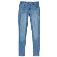 textil Flickor Skinny Jeans Levi's 710 SUPER SKINNY Blå