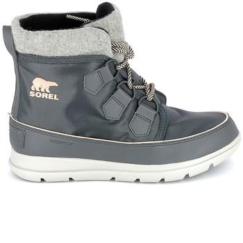 Skor Boots Sorel Explorer Carnaval Dark Slate Grå