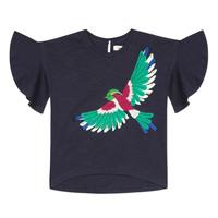 textil Flickor T-shirts Catimini MATIGNON Blå
