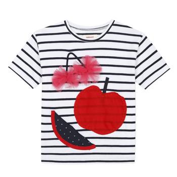 textil Flickor T-shirts Catimini KUSY Vit
