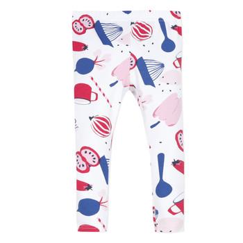 textil Flickor Leggings Catimini LEONTINE Vit