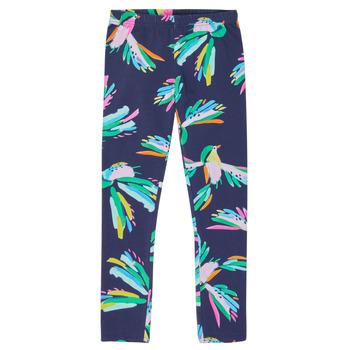 textil Flickor Leggings Catimini LOUANE Blå