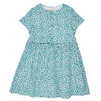 textil Flickor Korta klänningar Catimini ELLA Grön / Blå