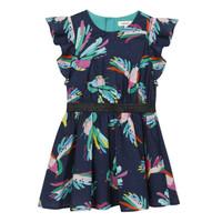 textil Flickor Korta klänningar Catimini CESAR Blå