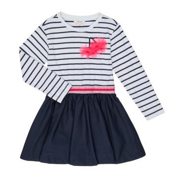 textil Flickor Korta klänningar Catimini BASILE Vit