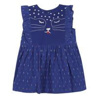 textil Flickor Korta klänningar Catimini CHARLES Blå