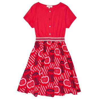 textil Flickor Korta klänningar Catimini MANOA Röd