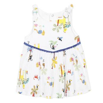textil Flickor Korta klänningar Catimini BIXENTE Vit