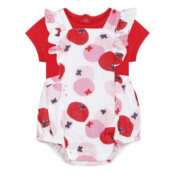 textil Flickor Set Catimini LUCIEN Röd