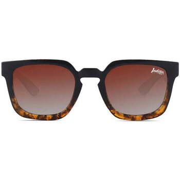Klockor & Smycken Solglasögon The Indian Face Tarifa Brun