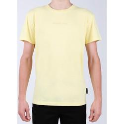 textil Herr T-shirts DC Shoes DC EDYKT03376-YZL0 yellow