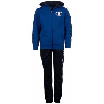 textil Barn Sportoverall Champion Crewnek Suit Kid's Blå