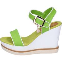 Skor Dam Sandaler Enrico Coveri sandali pelle sintetica Verde