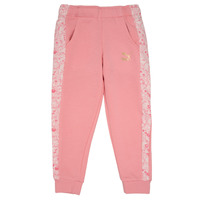 textil Flickor Joggingbyxor Puma MONSTER SWEAT PANT GIRL Rosa