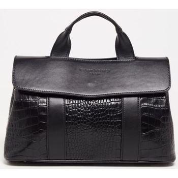 Väskor Dam Handväskor med kort rem Maison Heritage GENI NOIR