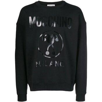 textil Herr Sweatshirts Moschino ZA1704 Svart