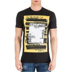 textil Herr T-shirts Dsquared S71GD0741 Svart