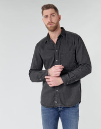 textil Herr Långärmade skjortor Diesel D-BER-P Svart