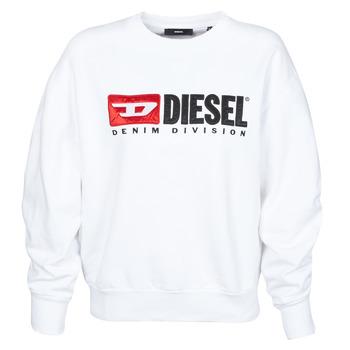 textil Dam Sweatshirts Diesel F-ARAP Vit
