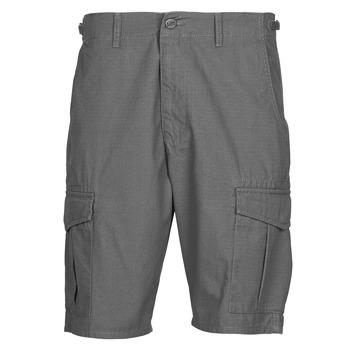 textil Herr Shorts / Bermudas Lee CARGO SHORT FATIGUE Steel / Grå