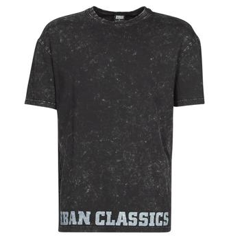 textil Herr T-shirts Urban Classics TOBI Svart