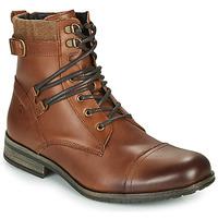 Skor Herr Boots Casual Attitude RIVIGH Kamel