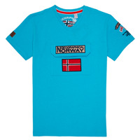 textil Pojkar T-shirts Geographical Norway JIRI Turkos