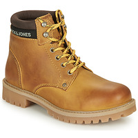 Skor Pojkar Boots Jack & Jones JFW STATTON LEATHER Honung
