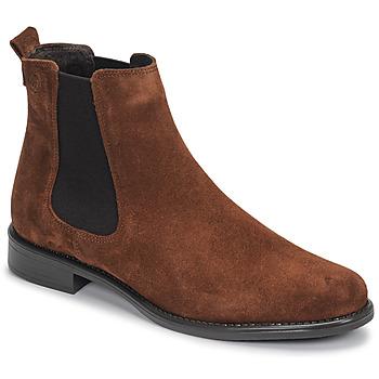 Skor Dam Boots Betty London NORA Brun