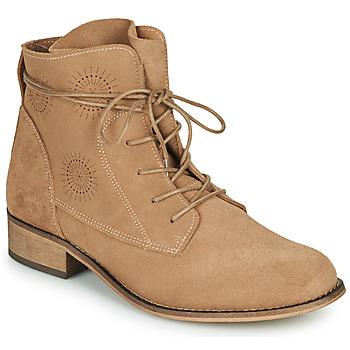 Skor Dam Boots Betty London MARILU Beige