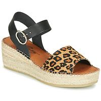 Skor Dam Sandaler Betty London MARILUS Leopard