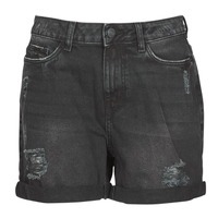 textil Dam Shorts / Bermudas Noisy May NMSMILEY Svart