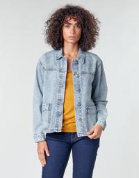 textil Dam Jackor & Kavajer Noisy May NMMELODIE Blå / Ljus