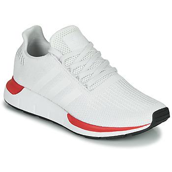 Skor Herr Sneakers adidas Originals SWIFT RUN Vit / Röd