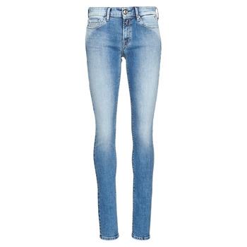 textil Dam Skinny Jeans Replay LUZ Blå