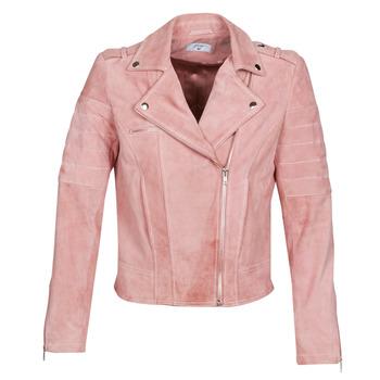 textil Dam Skinnjackor & Jackor i fuskläder Betty London MARILINE Rosa